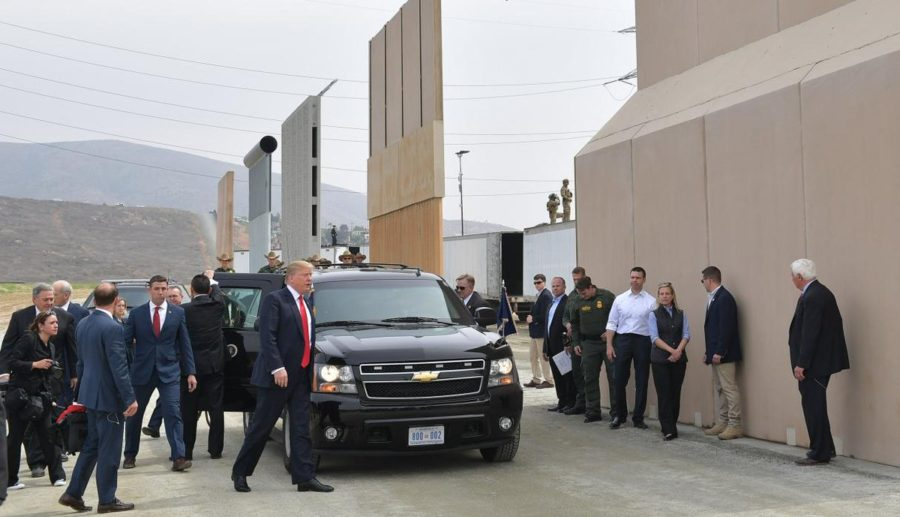 el muro imaginario de Trump