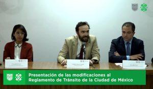 Reglamento de Tránsito Ciudad de México Semovi Andrés Lajous