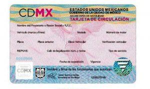 licencias tarjeta de circulación Ciudad de México Semovi