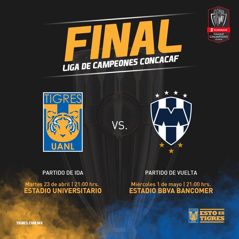 Clásico Regio Tigres Rayados Concachampions