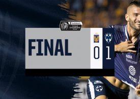 Rayados toma ventaja sobre Tigres en la Concachampions