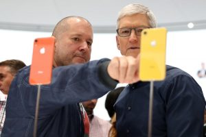 Jony Ive, exdiseñador de Apple
