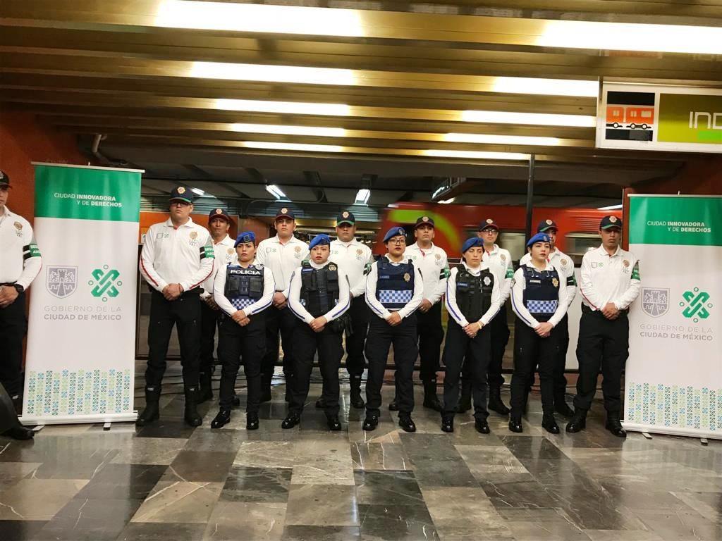 nueva imagen Policía del Transporte Ciudad de México