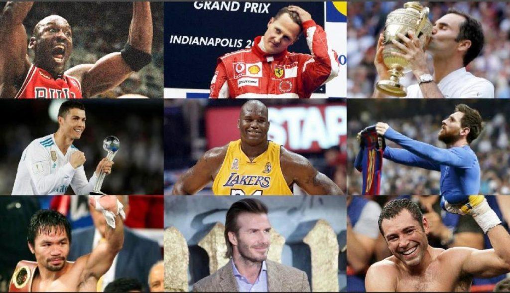 mejor deportista de la historia Michael Jordan Lionel Messi Cristiano Ronaldo Pelé Maradona
