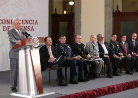 Presenta AMLO informe nacional de seguridad pública