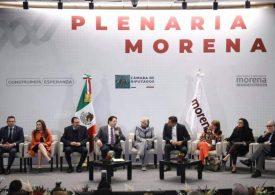 Diputados de Morena, satisfechos