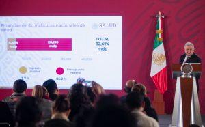 Andrés Manuel López Obrador AMLO sistema de salud