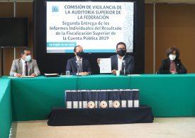 La ASF entrega informe de la cuenta pública