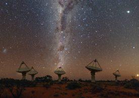 Señales de radio en el espacio