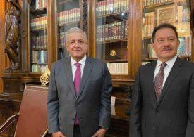 AMLO se reúne con presidente de Jucopo
