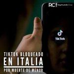TikTok se va de Italia