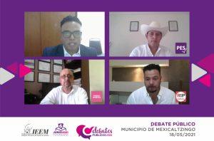Debate de candidato de Mexicaltzingo